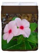 Periwinkle Flower 2 Duvet Cover