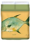 Permit Fish Duvet Cover