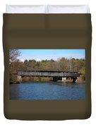 Perrine's Bridge In Spring #2 Duvet Cover
