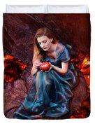 Persephone, Greek Mythological Goddess Duvet Cover