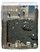 Persian Miniature, 1468 Duvet Cover
