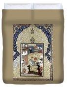 Persian Nobleman Duvet Cover