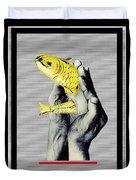 Personal Goldfish Duvet Cover