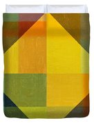 Perspective In Color Collage 2 Duvet Cover