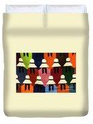 Peru Hat Tapestry Duvet Cover