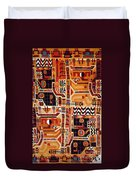 Peru: Tunic Fragment Duvet Cover