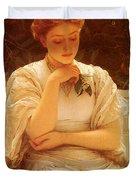 Perugini Charles In The Orangery Duvet Cover