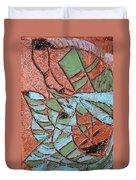 Perusal Tile Duvet Cover