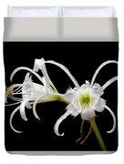 Peruvian Daffodils Duvet Cover