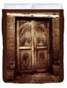 Peruvian Door Decor 11 Duvet Cover