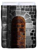 Peruvian Door Decor 13 Duvet Cover