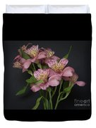 Peruvian Lily Duvet Cover