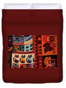 Peruvian Tapestries  Duvet Cover