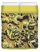 Pet Pendant Dogs Duvet Cover