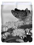 Petal Perch Duvet Cover