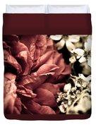 Petal Rift Duvet Cover