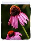 Petals And Quills Duvet Cover