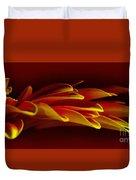 Petals Like Fingertips By Kaye Menner Duvet Cover