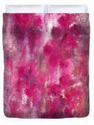 Petals In The Night Duvet Cover