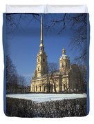 Peter And Paul Cathedral Duvet Cover