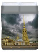 Peter And Paul Fortress Duvet Cover