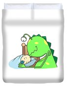 Peter And The Closet Monster, Kiss Duvet Cover