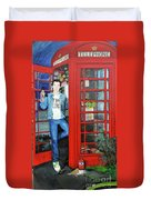 Peter Capaldi Dr Who Putting You Through Duvet Cover