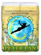 Peter Pan Tribute Duvet Cover
