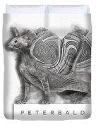 Peterbald Kitten 01 Duvet Cover