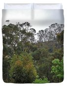 Peters Canyon In The Rain 8 Duvet Cover