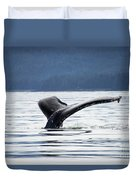 Petersburg Ak Whale Tale 5 Duvet Cover