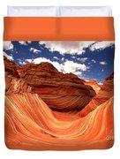 Petrified Dunes Landscape Duvet Cover