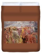 Petrified Wood 2 Duvet Cover