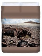 Petrified Wood #2 Duvet Cover