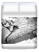 Petrified Wood #5 Duvet Cover