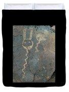 Petroglyph Series 1 Duvet Cover
