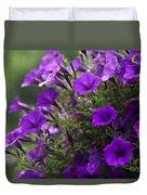 Petunias 2 Duvet Cover