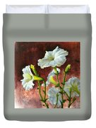 Petunias Delight Duvet Cover