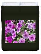 Petunias Duvet Cover