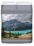 Peyto Lake Banff Duvet Cover