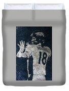 Peyton Manning Broncos 2 Duvet Cover