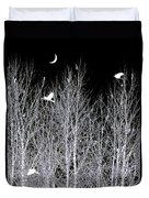 Phantom Birds Duvet Cover