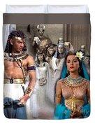 Pharaoh Of Egypt Exodus 2 Duvet Cover