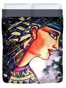 Pharoah Of Egypt Duvet Cover