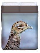 Pheasant Hen Duvet Cover