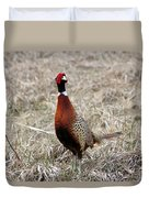 Pheasant Rooster Duvet Cover