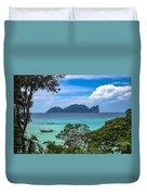 Phi Phi Islands Duvet Cover