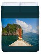 Phi Phi Leh Duvet Cover