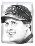 Phil Mickelson Duvet Cover