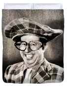 Phil Silvers, Comedy Legend Duvet Cover